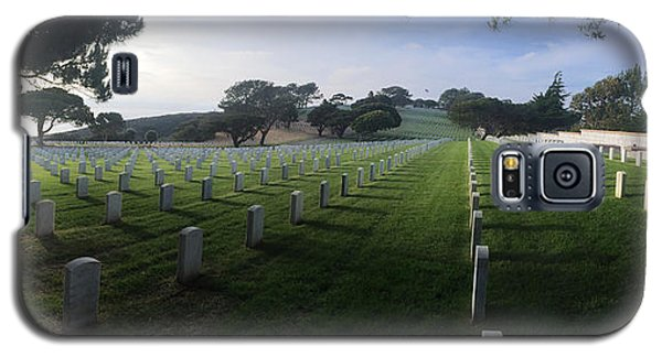 Galaxy S5 Case featuring the photograph Fort Rosecrans National Cemetery by Lynn Geoffroy