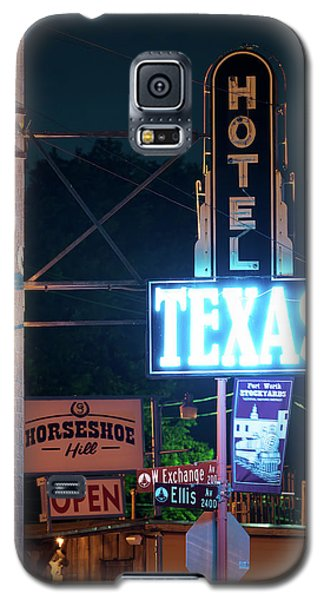 Fort Worth Hotel Texas 6616 Galaxy S5 Case