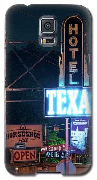 Fort Worth Hotel Texas 6616 Galaxy S5 Case