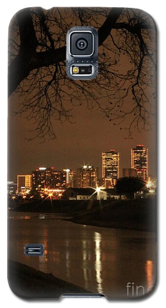Fort Worth Skyline Galaxy S5 Case