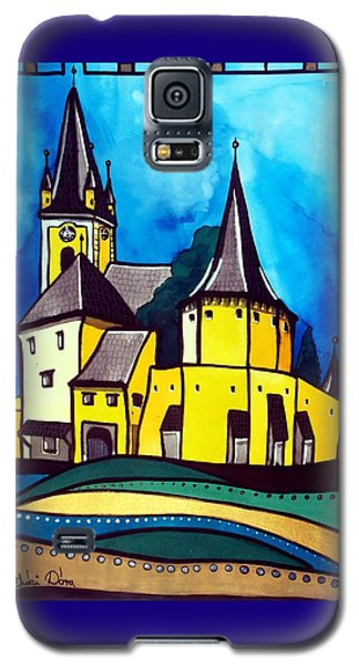 Fortified Medieval Church In Transylvania By Dora Hathazi Mendes Galaxy S5 Case