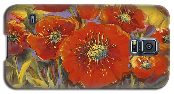 Fortuitous Poppies Galaxy S5 Case