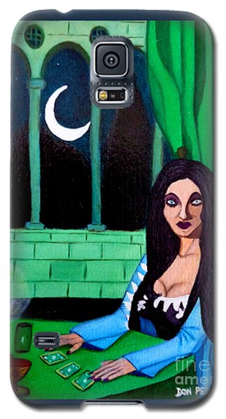 Galaxy S5 Case featuring the painting Fortune Teller by Don Pedro De Gracia