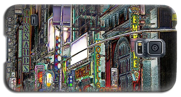 Galaxy S5 Case featuring the photograph Forty Second And Eighth Ave N Y C by Iowan Stone-Flowers