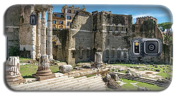 Galaxy S5 Case featuring the photograph Forum Of Augustus by Scott Carruthers