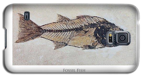 Fossil Fish Galaxy S5 Case