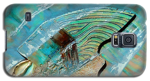 Galaxy S5 Case featuring the painting Fossil On The Shore by Suzanne McKee