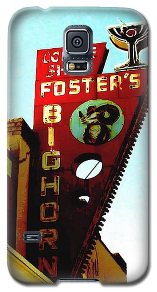 Foster's Bighorn Cafe Galaxy S5 Case by Sadie Reneau