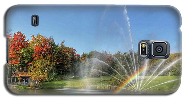 Fountain At Tater Hill Galaxy S5 Case