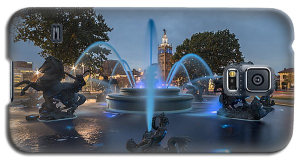 Fountain Blue Galaxy S5 Case