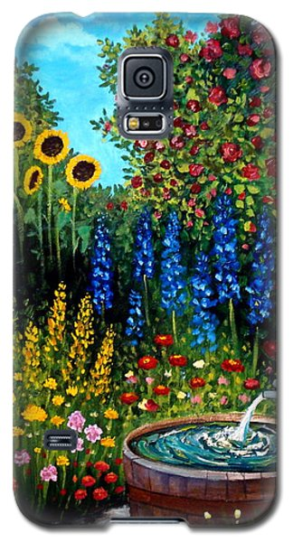 Fountain Of Flowers Galaxy S5 Case
