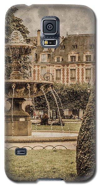 Paris, France - Fountain, Place Des Vosges Galaxy S5 Case