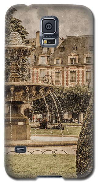Paris, France - Fountain, Place Des Vosges Galaxy S5 Case