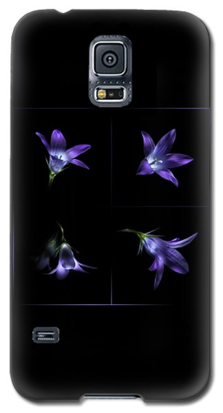 Four Bluebell Flowers - Light Painting Galaxy S5 Case