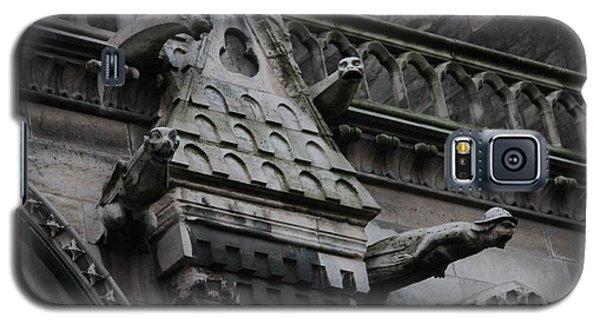 Four Gargoyles On Notre Dame North Galaxy S5 Case