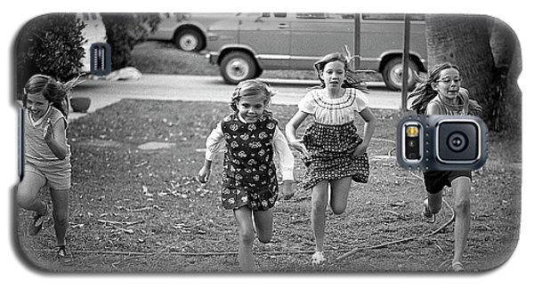 Four Girls Racing, 1972 Galaxy S5 Case