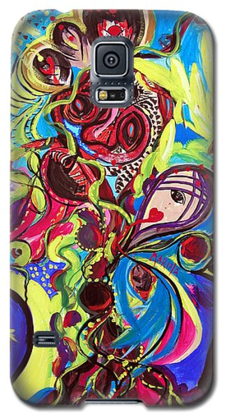 Experimenting With Creation Galaxy S5 Case by Marina Petro