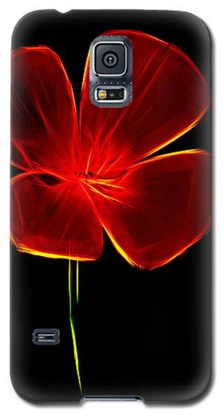 Four Petals Galaxy S5 Case by Steven Parker