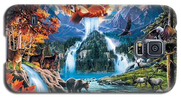 Four Seasons Galaxy S5 Case by Robin Koni