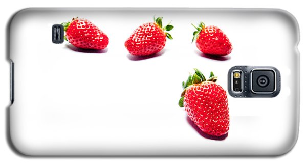 Four Strawberries Galaxy S5 Case