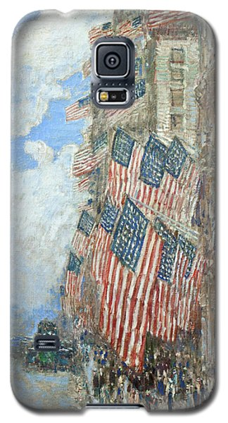 Galaxy S5 Case featuring the painting Fourth Of July, 1916 by Frederick Childe Hassam