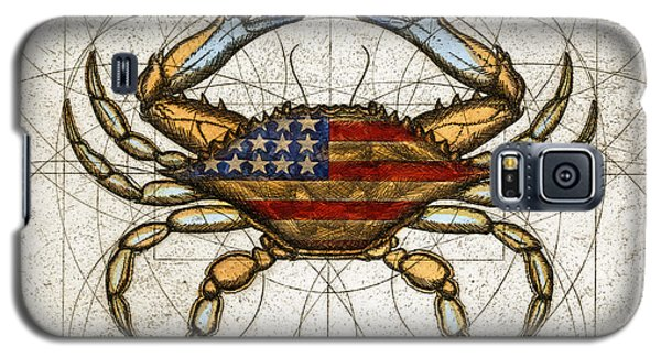 Fourth Of July Crab Galaxy S5 Case