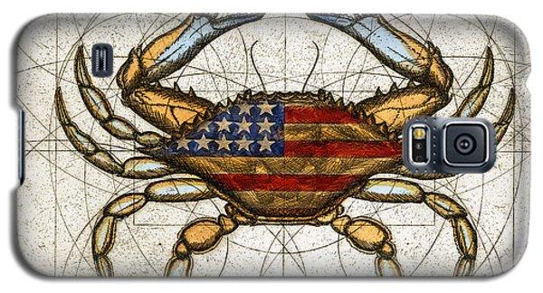 Fourth Of July Crab Galaxy S5 Case