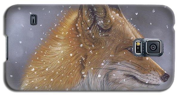 Fox In A Flurry Galaxy S5 Case