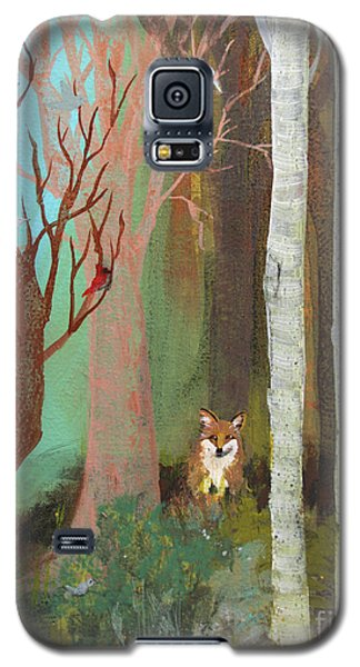 Fox In The Forest  Galaxy S5 Case