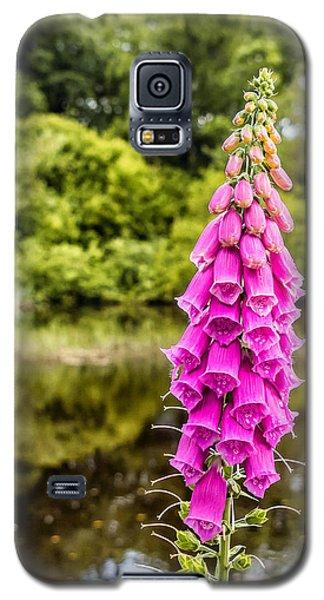 Foxglove In Flower Galaxy S5 Case
