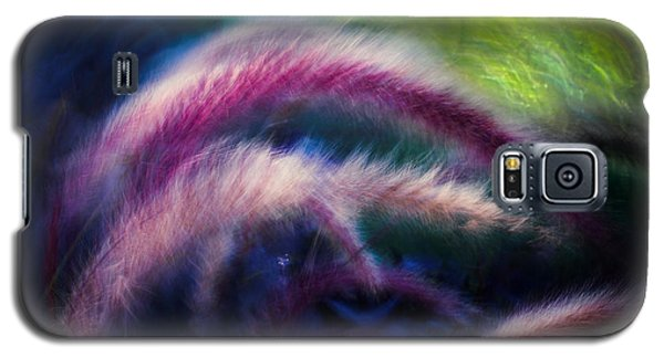 Galaxy S5 Case featuring the photograph Foxtails In Shadows by Rikk Flohr