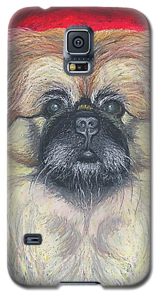 Fozy Bear Pekingese Galaxy S5 Case