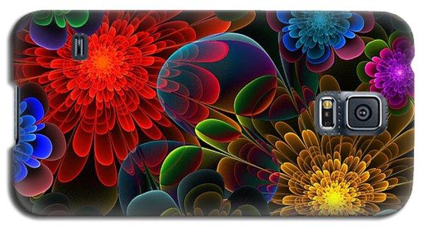 Fractal Bouquet Galaxy S5 Case by Lyle Hatch