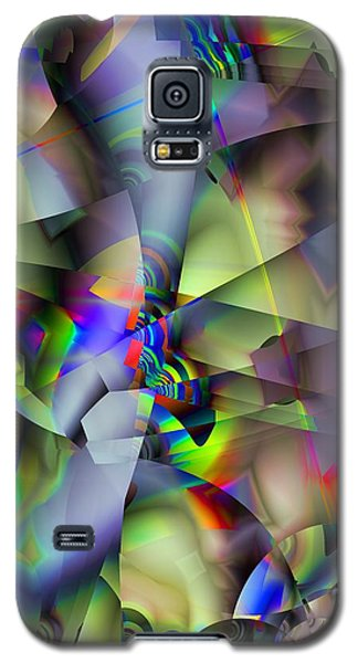 Fractal Cubism Galaxy S5 Case by Ron Bissett
