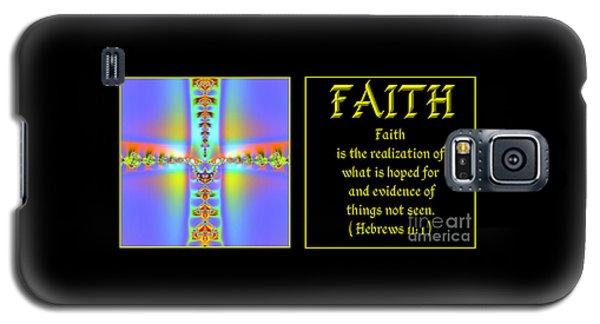 Fractal Faith Hebrews 11 Galaxy S5 Case