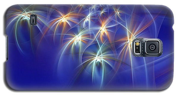 Fractal Fireworks Galaxy S5 Case by Richard Ortolano