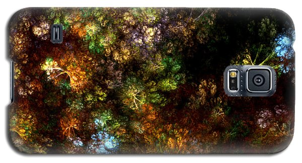Fractal Flowers Galaxy S5 Case
