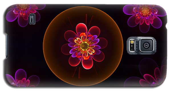 Fractal Flowers Galaxy S5 Case