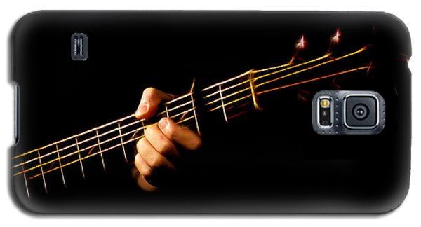 Galaxy S5 Case featuring the photograph Fractal Frets by Cameron Wood