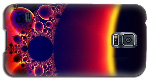 Fractal Galaxy Sunset  Galaxy S5 Case
