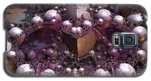 Fractal Mine Field Galaxy S5 Case