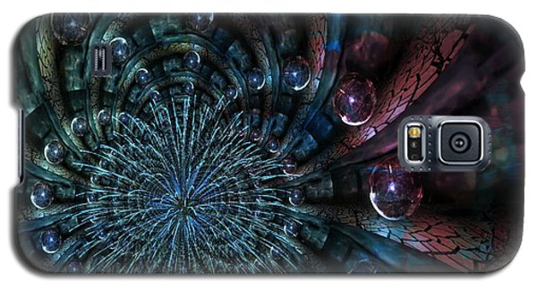 Fractal Moons Galaxy S5 Case