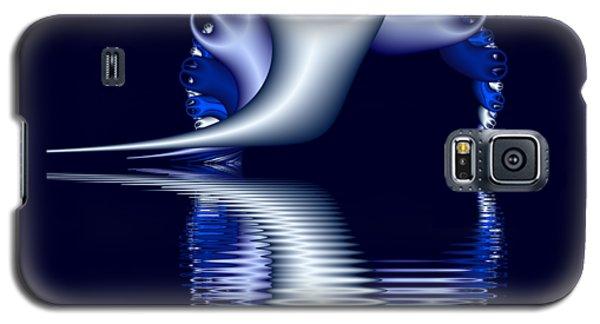 Fractal Peeble Ghosts Galaxy S5 Case