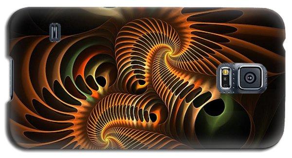 Fractal Spirochete Galaxy S5 Case
