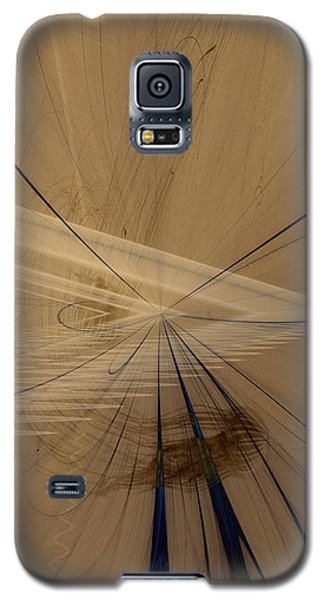 Fractals In Atlantis Center Galaxy S5 Case by David Jenkins