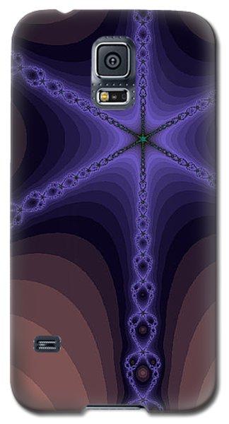 Fractals Yum Beige Galaxy S5 Case