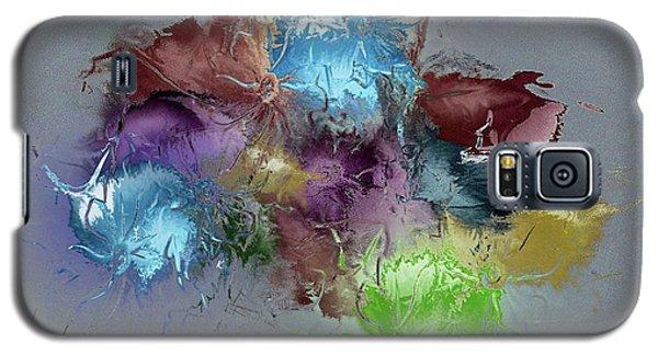 Fractured Bouqet 1 Pc Galaxy S5 Case by John Krakora