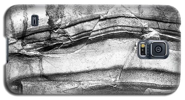 Galaxy S5 Case featuring the photograph Fractured Rock by Onyonet  Photo Studios