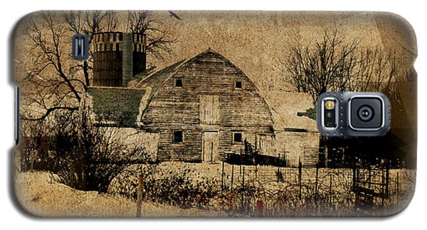 Fragmented Barn  Galaxy S5 Case