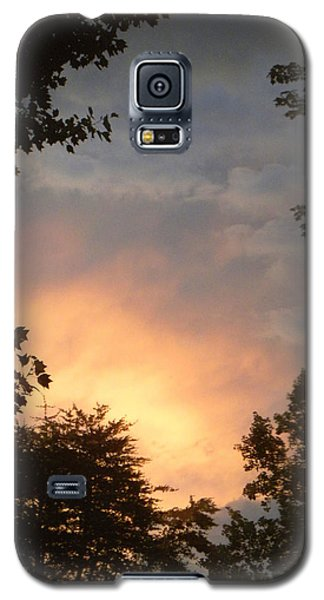 Galaxy S5 Case featuring the photograph Framed Fire In The Sky by Sandi OReilly